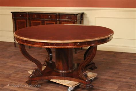 Oversized Dining Table Oversized Perimeter Table 62 To 88 Mahogany Dining Table Usa Finish Ebay