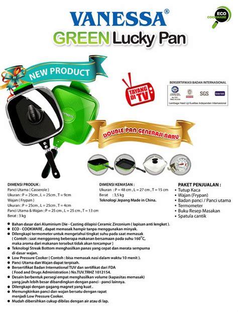 Wajan Eco Green peralatan rumah tangga oktober 2013