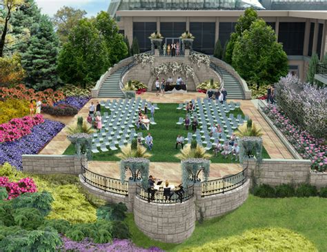 Cleve Botanical Gardens Portico Exhibit Design