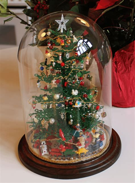 Handcrafted Trees - handmade beaded tree 183 eye4design staged to