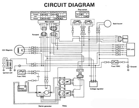 wiring diagram electric golf cart k