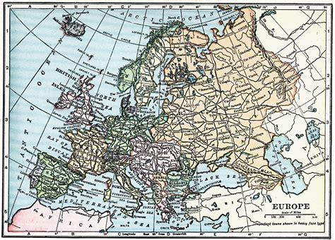 europe map 1919 europe