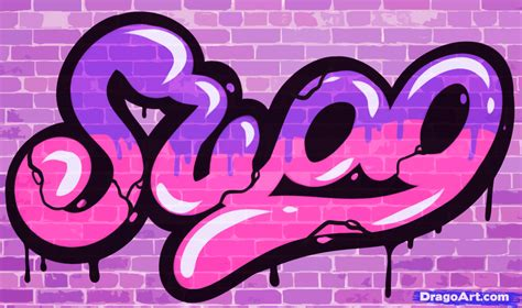 s wag how to draw swag swag step by step graffiti pop