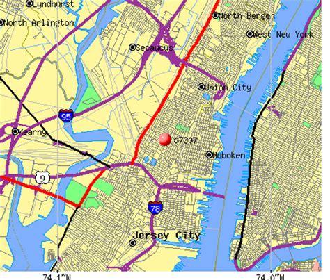 zip code map jersey city jersey city zip code map zip code map