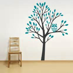 owl tree wall decal quotes wall decoration stickers 2017 grasscloth wallpaper