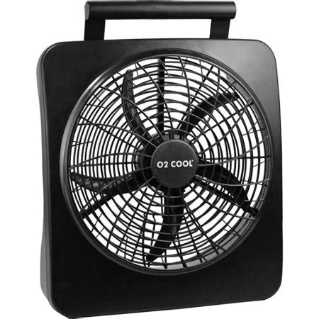 10 battery operated fan o2cool 10 quot battery operated fan with ac adapter walmart com