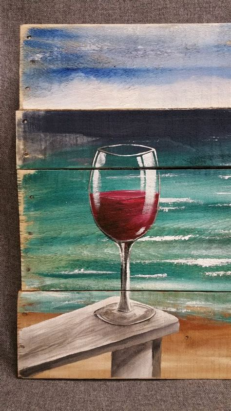 ocean beach red house painters best 25 wine painting ideas on pinterest
