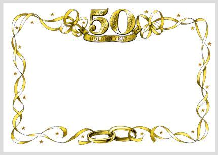Wedding Anniversary Borders by Weddings Gifts Wedding Gifts Anniversary Gifts 50th