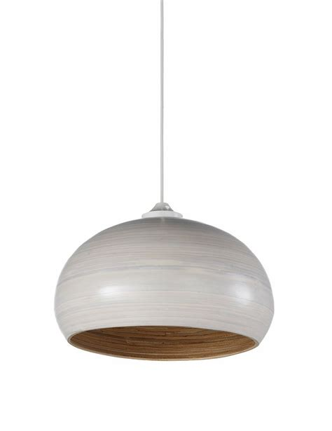 bamboo lshade lighting pendants