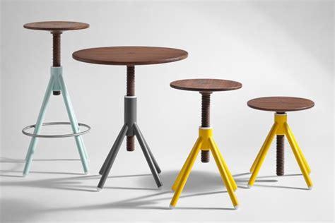 Thread Like Stool thread family stools and bistro table use bolt like