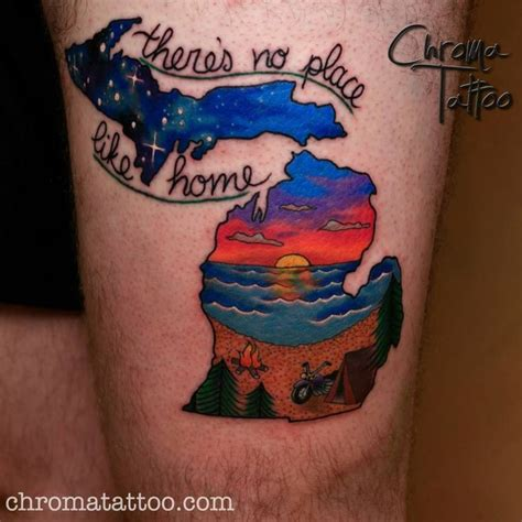 michigan state tattoo 25 best ideas about michigan tattoos on state