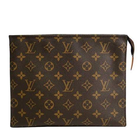 Clutch L Is Vuitton louis vuitton monogram canvas s unisex carryall