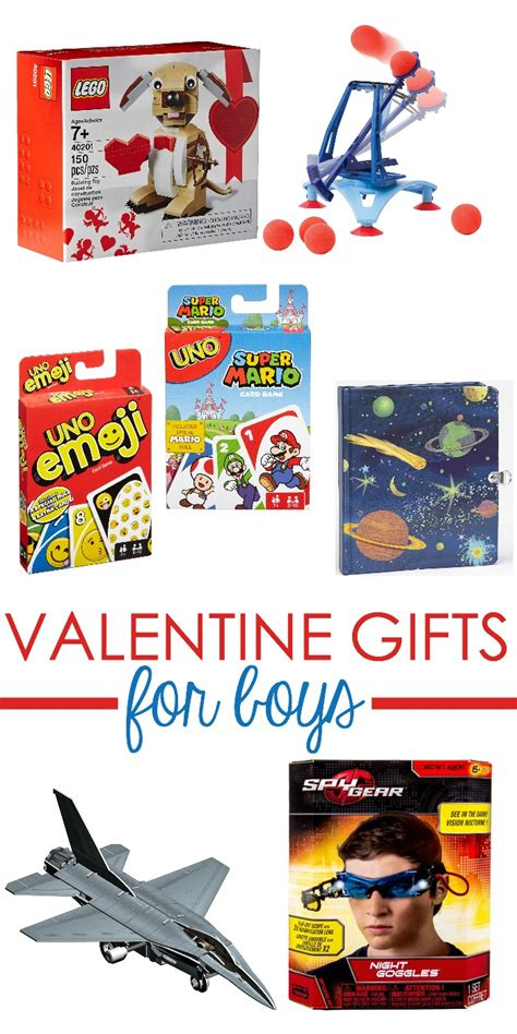 boys valentines gifts gift ideas boys will