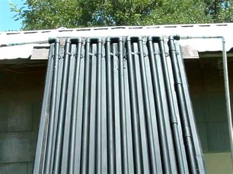 diy home  circulating solar water heater youtube