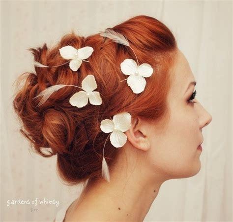 hair pin collection khopa wedding bobby pin set hydrangea hair pins 2247528 weddbook
