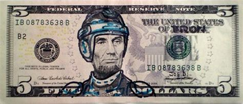 abraham lincoln on dollar abraham lincoln on five dollars