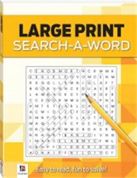 Large Floor Puzzle Numbers Words Hinkler crossword large print puzzles series 4 crosswords
