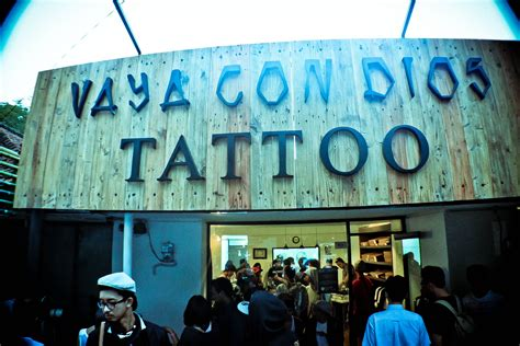 tattoo shop in bandung vaya con dios tattoo launching south beach queen