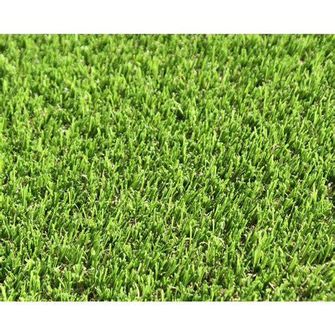 lowes artificial grass shop smart turf bayside 12 ft wide bermuda cut to length artificial grass at lowes