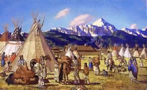 native american wall murals native americans fur trading wallpaper wall mural self