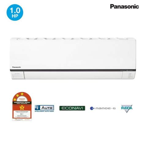 Ac Panasonic Non Cfc panasonic 1 0hp deluxe non inverter air conditioner cs