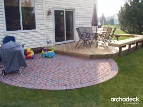 how to determine how much space you need for your deck or patio outdoor living with archadeck