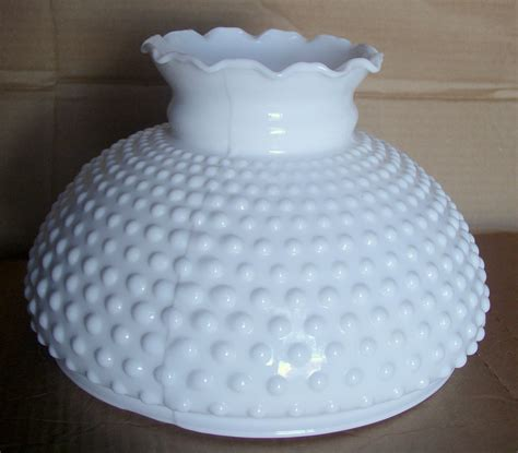 milk glass l shade hobnail milk glass 10 l shade thingery previews