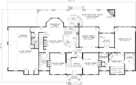 georgian house floor plans saltsburg luxury georgian home plan 055s 0081 house plans and more