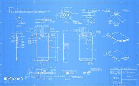 Blueprints Free by Iphone 5の図面がmac用の壁紙になった Apps Core