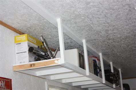 Garage Storage Ceiling Do It Yourself by 25 Best Ideas About Overhead Garage Storage On Overhead Storage Diy Garage Storage