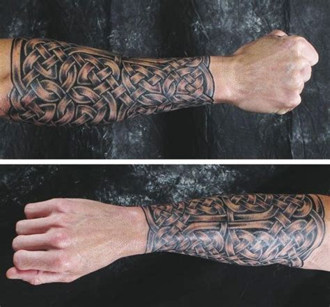 celtic half sleeve tattoos for men celtic knot sleeve