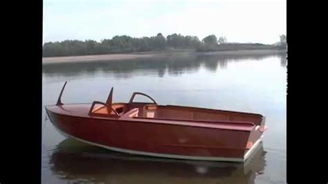outboard runabout boat plans 15 wooden runabout for outboard building project youtube