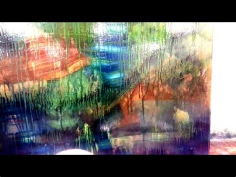 5 Painting Techniques by 5 Minute Abstract Painting Technique The Drip Effect