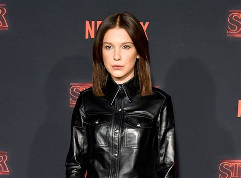 millie mackintosh is almost unrecognisable with blonde hair in millie bobby brown is almost unrecognizable with longer