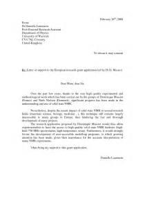 Nih Grant Resubmission Cover Letter Nih Cover Letter Sle Best Letter Sle