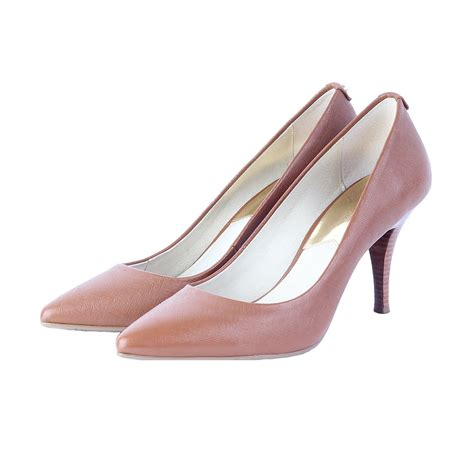 Sepatu Highheels Michael Kors Mk Flex Original michael kors flex mid heel pumps s 38 5 5 5 luxity