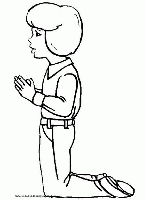coloring page girl praying girl praying coloring page az coloring pages