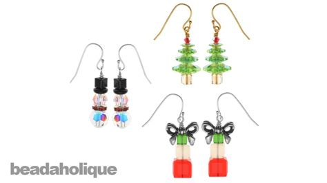 Jewelry Making Instructions - instructions for making the crystal christmas earring set kit youtube