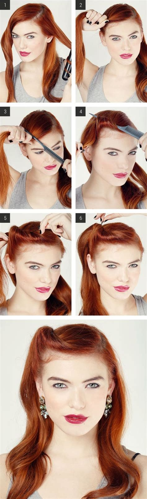 1950s step by step hairstyle 20 elegant retro hairstyles 2018 vintage hairstyles for