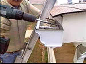 how to install gutters hgtv