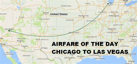 airfare of the day american airlines chicago to las vegas economy class 50 one way 99
