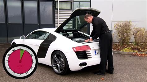 Audi Arbeiten by How To Check Engine Level Audi R8
