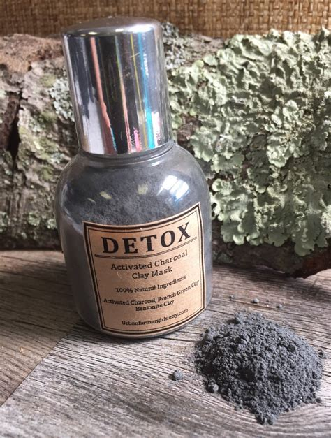 Charcoal Water Detox by Detox Activated Charcoal Mask