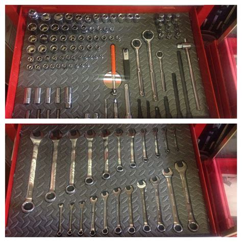 toolbox drawer liner ideas made my own shadowed tool box using a hot knife and foam