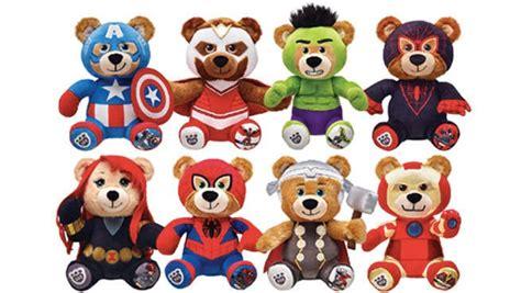 build bear workshop releases captain america iron
