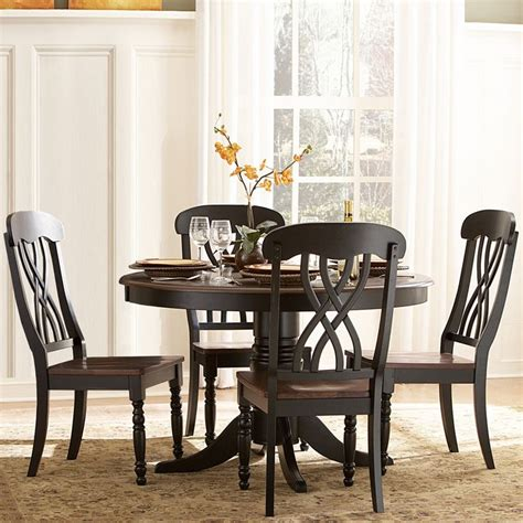 Black Country Dining Table Black Country Dining Table Distressed Black And Walnut Country Dining Table Wes Dalgo Macon