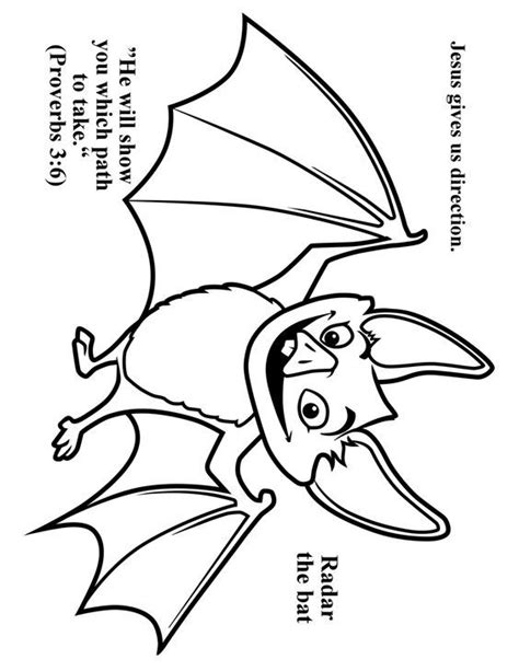 preschool bat coloring page cave quest day 3 preschool coloring page radar the bat