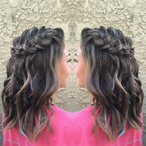 cute hairstyles for hoco 1932 best hair images on pinterest