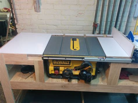how to make a table saw bench 25 best ideas about table saw stand on pinterest mitre