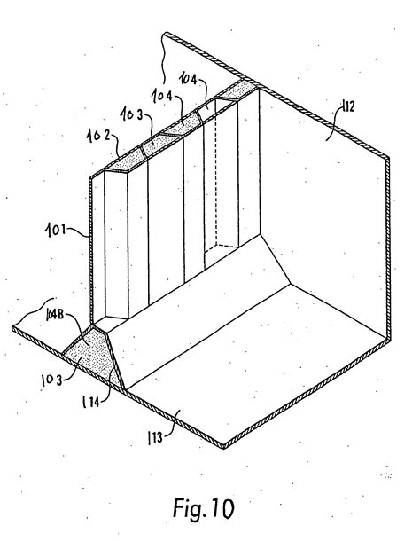 Sketches A Corrugated Bulkhead by Patent Ep1578660b1 Vessel Structures And Structures In
